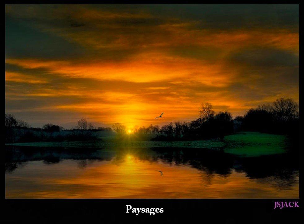 Couchés de Soleil, /  dans Sunset Pictures and couchés de soleil paysage-s1