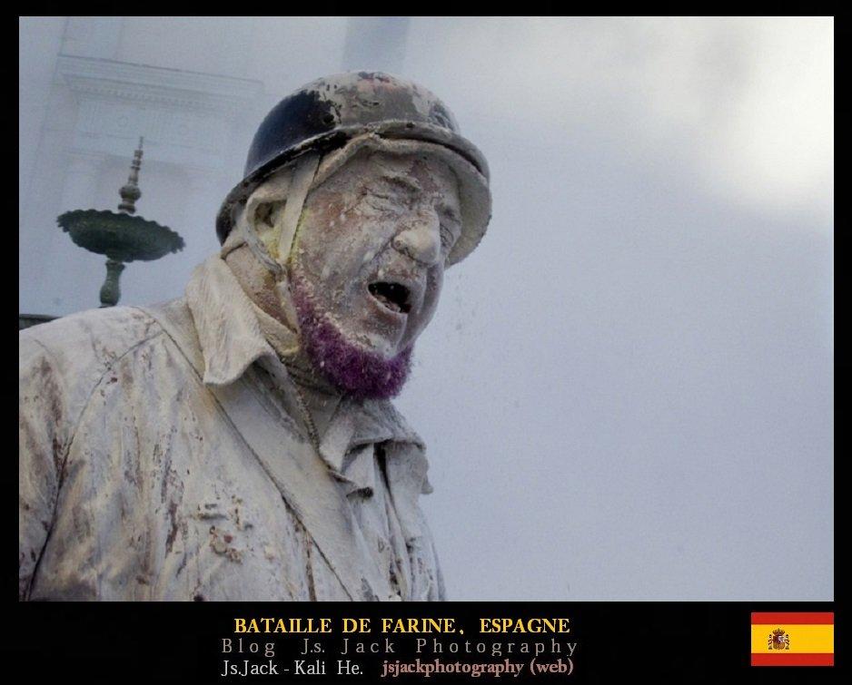Bataille de farine, Espagne, /  Blog.Js.Jack.Photography dans Bataille de farine bataille-farine