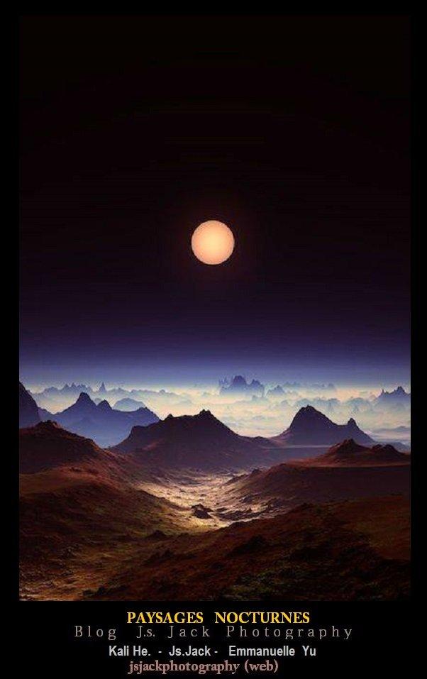 Paysages nocturnes D1