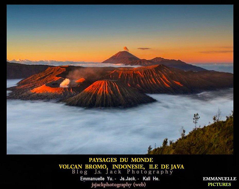 Paysages du monde Volcan Bromo 01