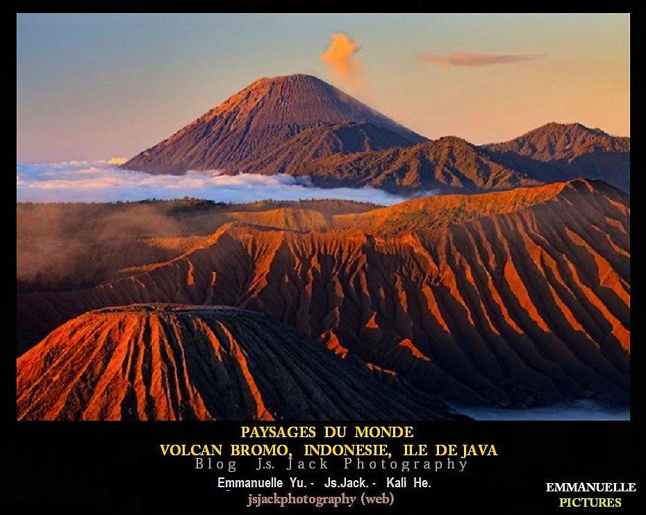 Paysages du monde Volcan Bromo 02