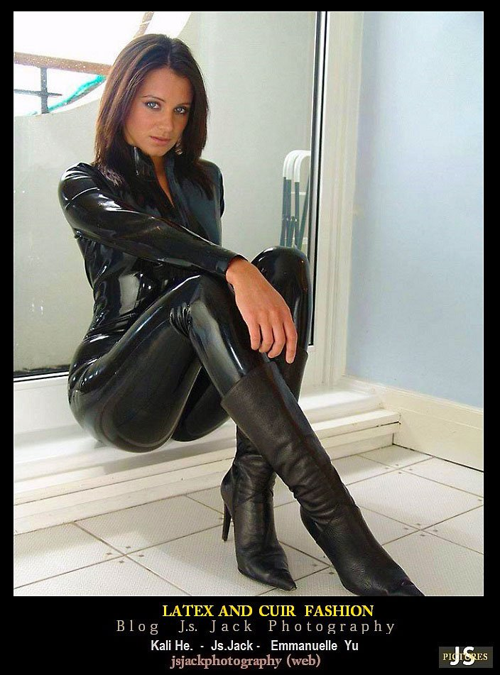 Latex cuir Fashion 01