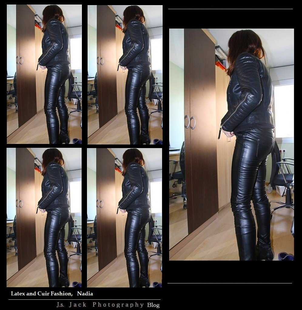 Latex and Cuir Fashion Nadia