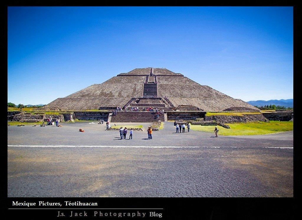 Mexique Pictures Téotihuacan