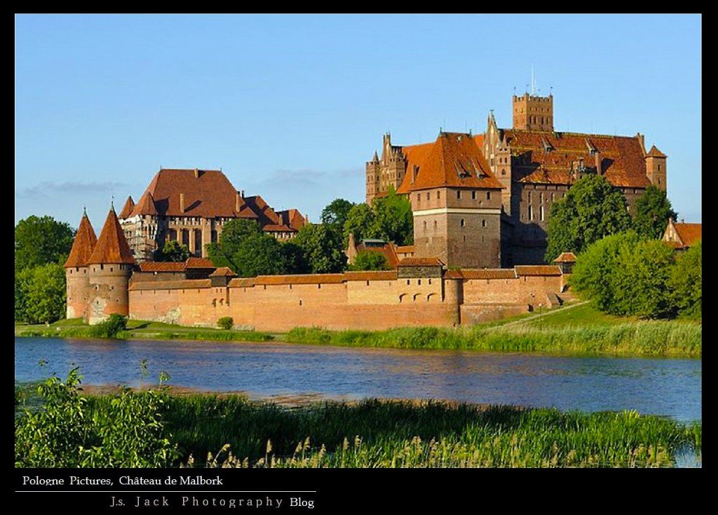 Pologne Picture Chateau Malbork 01