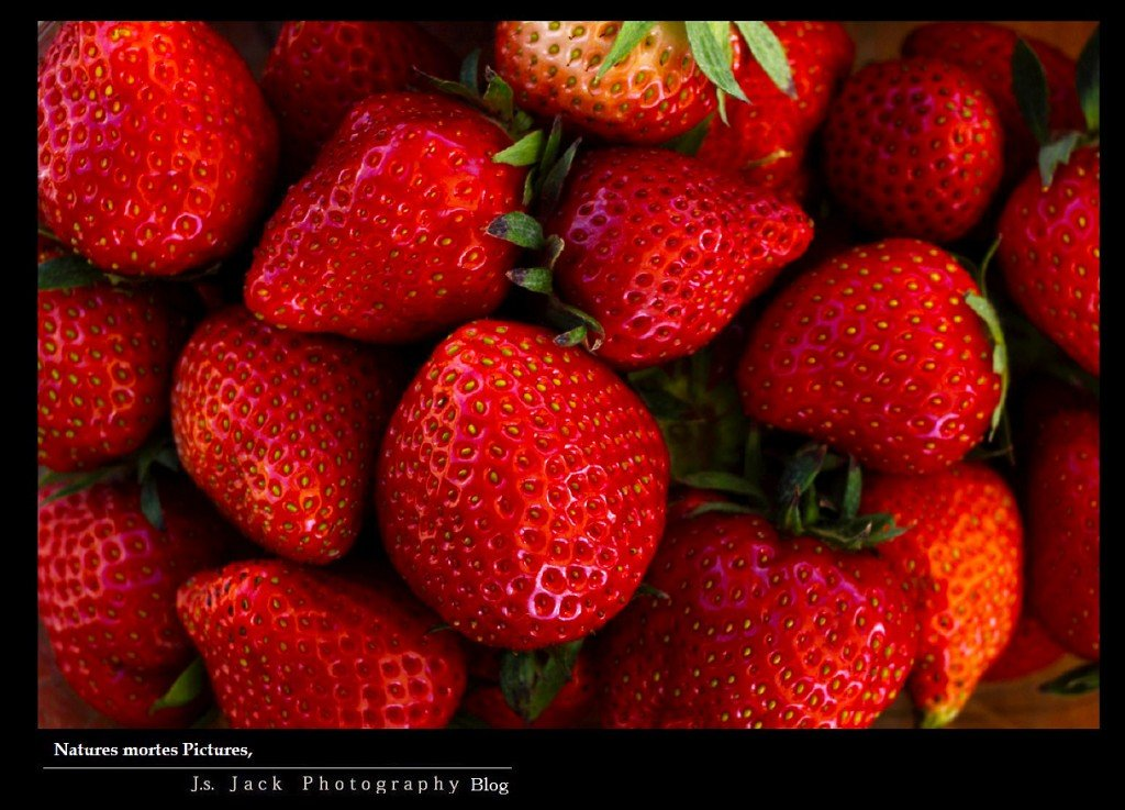 Natures mortes Pictures  Fraises